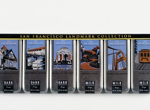 SF Landmark - 6 Tin Gift Set Milk & Dark