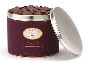 Chocolate pairs with Merlot (61%) - 4 lb. pail