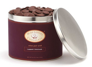 Chocolate pairs with Cabernet (55%) - 4 lb. pail