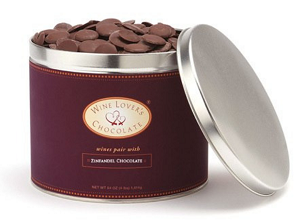Chocolate pairs with Zinfandel (72%) - 4 lb. pail